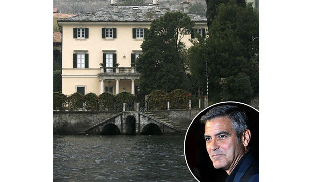 George Clooney house