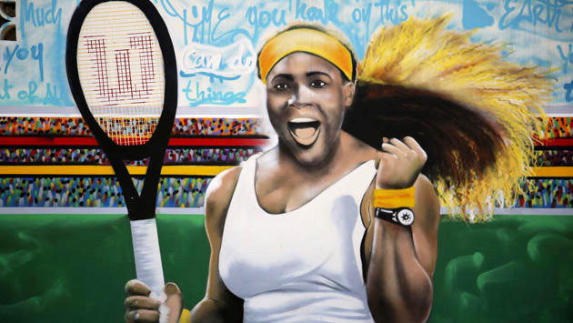 Serena Williams grafitisi