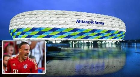 Bayern Mnih, Franck Ribery iin Allianz Arenaya cami yapacak!