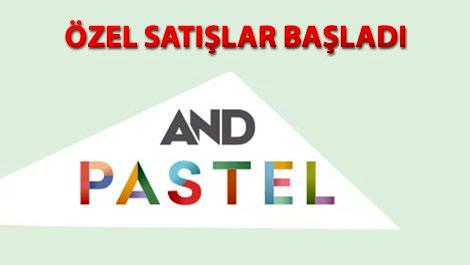 and pastel logo