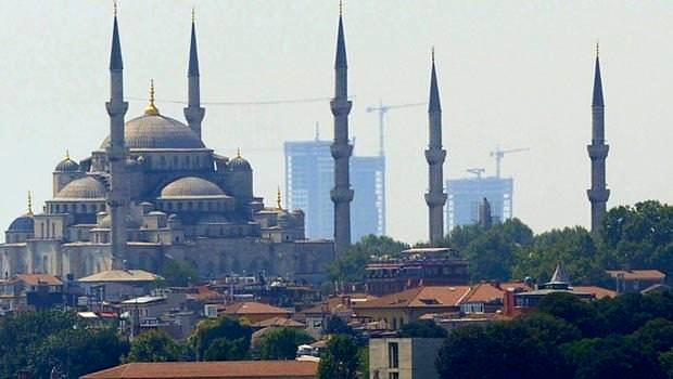 istanbul silüeti