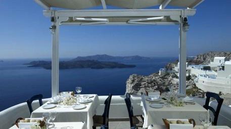 Caldera, Santorini, Yunanistan