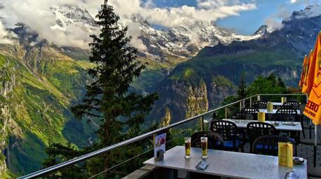 Hotel Edelweiss, Mürren, İsviçre