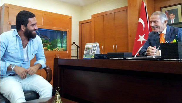 arda turan bayramaşa belediye başkanı