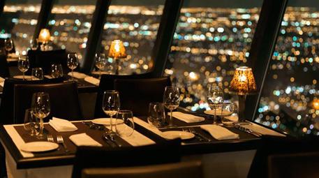 360 Restaurant-CN Kulesi, Toronto, Kanada