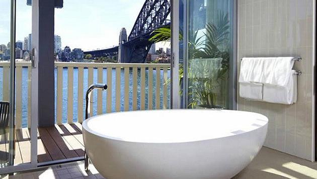 Pier One, Sidney-Avustralya banyo küveti