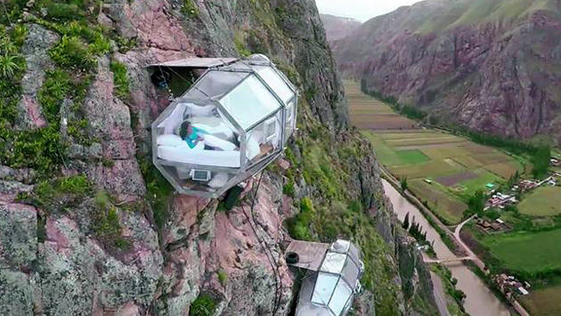 The Natura Vive's Skylodge Adventure Suite