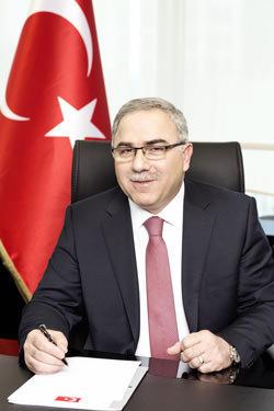 Başbakanlık Toplu Konut İdaresi (TOKİ) Başkanı M. Ergün Turan