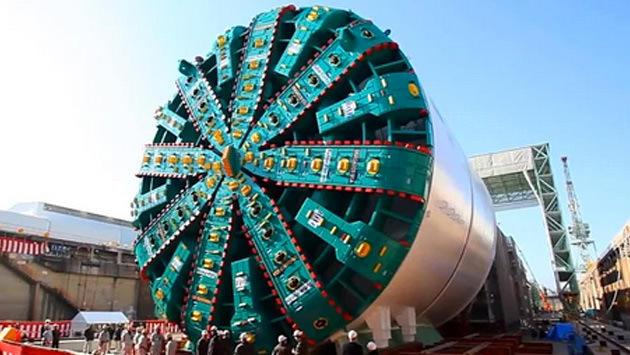 Bertha tünel kazıcı