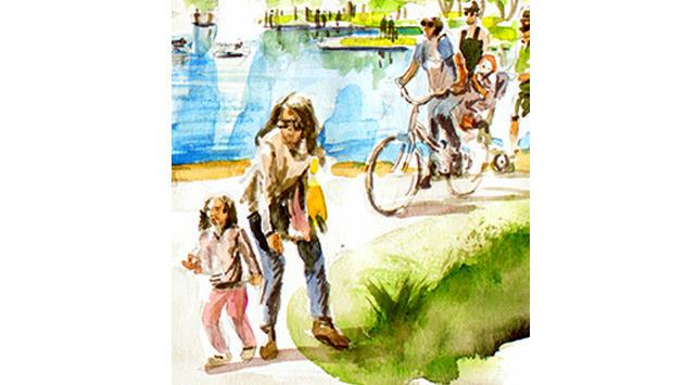 yürüyüş ve bisiklet