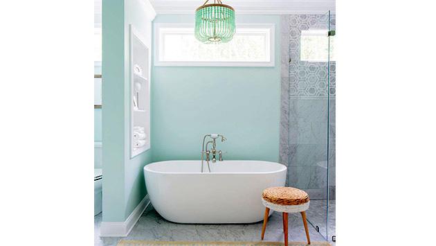 banyo deniz köpüğü yeşili