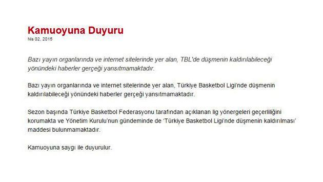 <a href='https://www.emlaktasondakika.com/haber-ara/?key=T%c3%bcrkiye+Basketbol+Federasyonu'>Türkiye Basketbol Federasyonu</a>