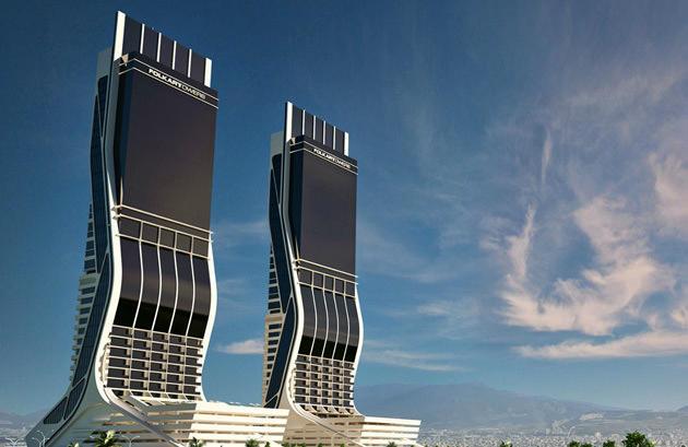 Folkart Towers kuleleri
