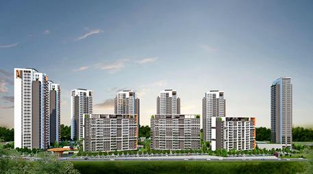 Göl Panorama Evleri blokları
