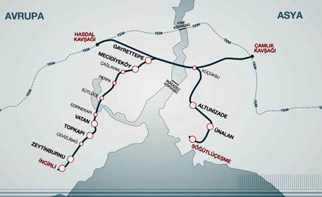 <a href='https://www.emlaktasondakika.com/haber-ara/?key=b%c3%bcy%c3%bck+istanbul+t%c3%bcneli'>büyük istanbul tüneli</a> güzergahı