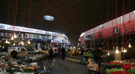 Gökhan Avcıoğlunun Beşiktaş Balık Pazarı Projesi Istanbul Tasarım