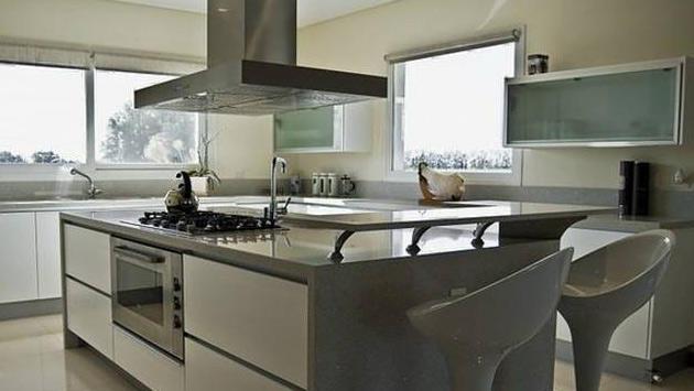 gri ve beyaz mutfak