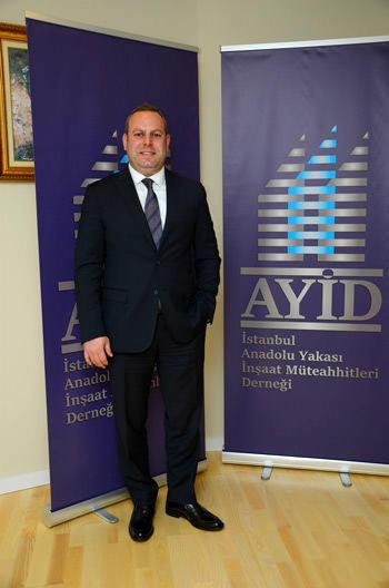 Anadolu Yakası İnşaatçılar Derneği (AYİD) Genel Sekreteri Hakan Şişik