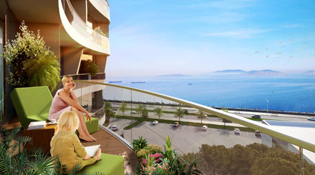 Dumankaya Horizon balkonlu