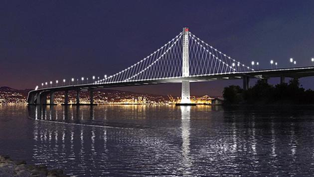ABD'deki Körfez Köprüsü Doğu Bölümü