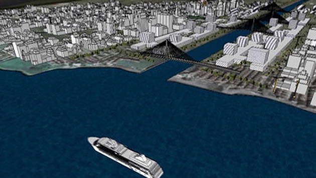 İstanbul'da yapılan Kanal İstanbul projesi