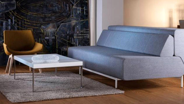 zarif bir yataklı kanepe