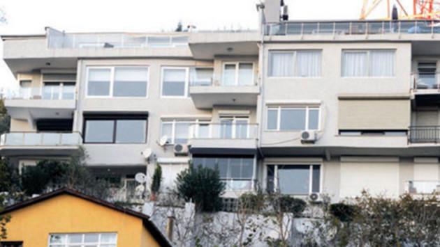 Kerem Bursin ve Serenay Sarıkaya'nın tuttukları ev