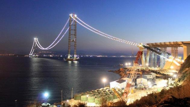 Körfez köprüsü ışıklandırma