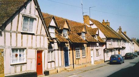 lavenham köyü