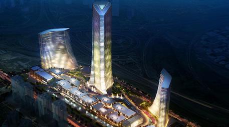 metropol istanbul projesinin 250 metrelik kulesi
