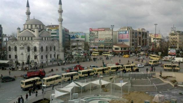 Gaziosmanpaşa'daki minibüs durakları