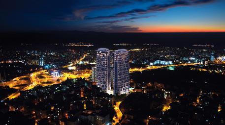 moment istanbul gece görünümü