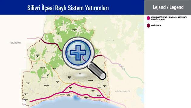 silivri metro haritası