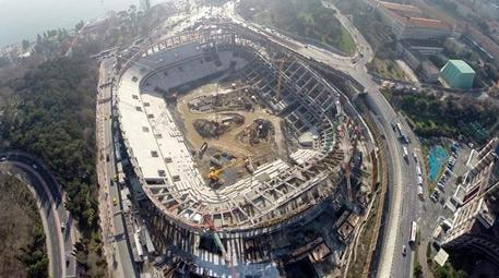 beşiktaş vodafone arena inşaatı
