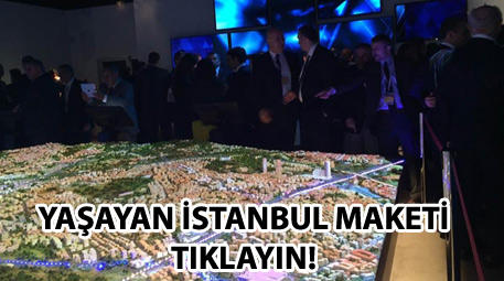 yaşayan istanbul maketi