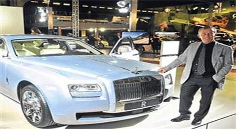 Ali Ağaoğlu Rolls Royce'unu teslim aldı