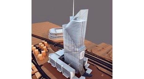 İstanbul Büyükşehir Belediyesi'nin 60 katlık yeni sarayı