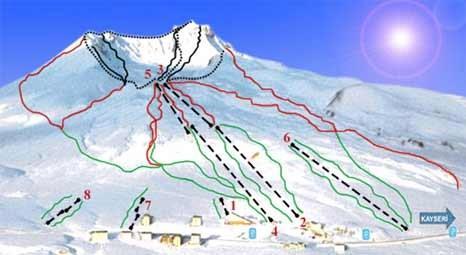 Erciyes, kış turizm merkezi oluyor