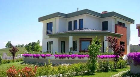 Tepepark Villaları'nda, metrekaresi 2 bin TL'ye villa!