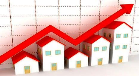 Konut fiyatları 2010'da 1.17 arttı