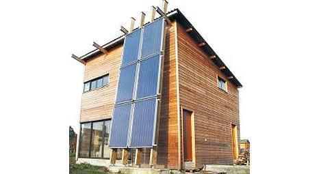 Ezinç Yeşil Ev, güneş enerjisiyle sıfır enerji maliyetine ulaşıyor