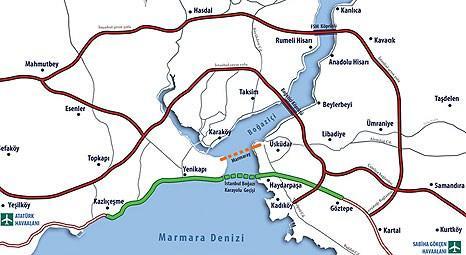 İstanbul'a Avrasya Tüneli geliyor! Boğaz karayolu geçiş projesi başladı!