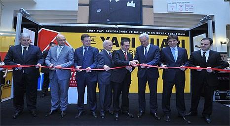 34. Yapı Fuarı - Turkeybuild İstanbul açıldı