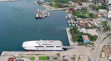 Bandırma limanına dev yatırım