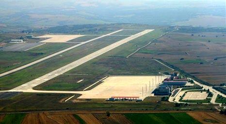 Çorlu Havaalanı Kırcal İnsaat'a emanet