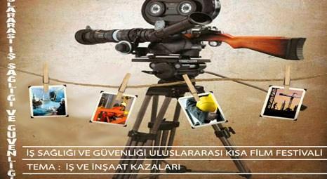 İş ve İnşaat Kazaları temalı kısa film festivali Eskişehir'de yapılacak!