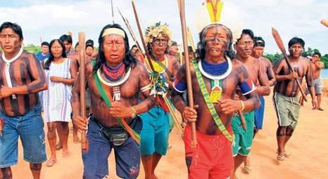 Brezilyalılar Xingu Nehri'ndeki Belo Monte Barajı'nı engelliyor!