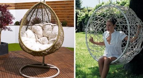 Ev dekorasyonu için tasarlanan mobilyalar doğallıklarıyla dikkat çekiyor!