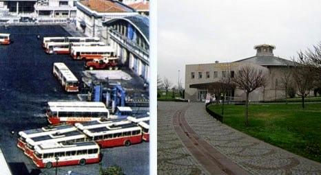 Eski Topkapı Garajı kültür alanına döndü!