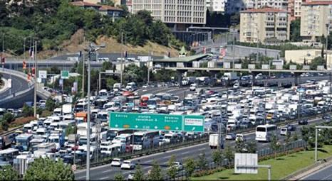İstanbul gibi şehirlerarası yollarda  hayatı zorlaştırıyor!